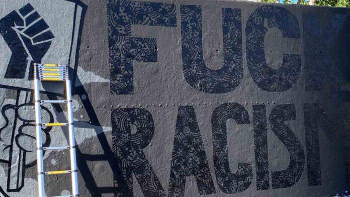 Black Lives Matter: Arte urbano negro en los muros de Barcelona
