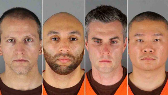 Cargos para los 4 ex policías implicados en la muerte de George Floyd