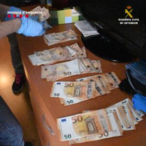 Desarticulada una organización dedicada al blanqueo de capitales procedentes del narcotráfico
