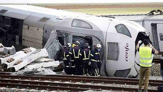 Descarrila un tren Alvia en Zamora dejando dos fallecidos en el siniestro
