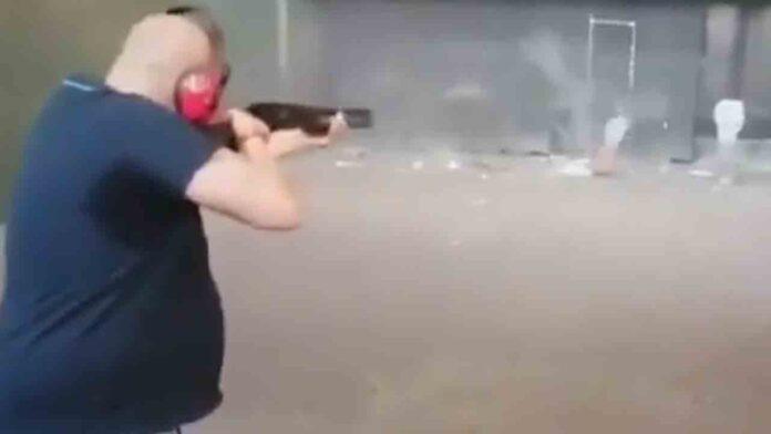 Detenido el autor del video que disparaba a dianas con imágenes de políticos