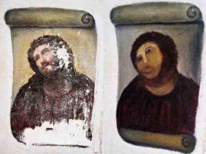 """Destruida una """"Inmaculada de Murillo"""" al intentar ser restaurada"""