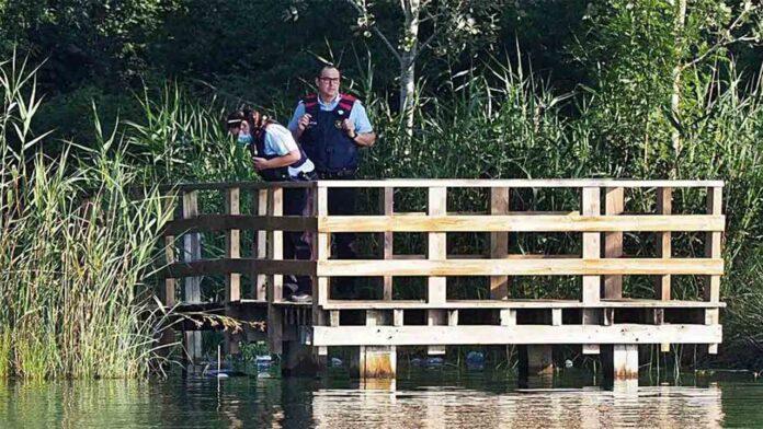 Encuentran un cadáver flotando en el lago de Banyoles (Girona)