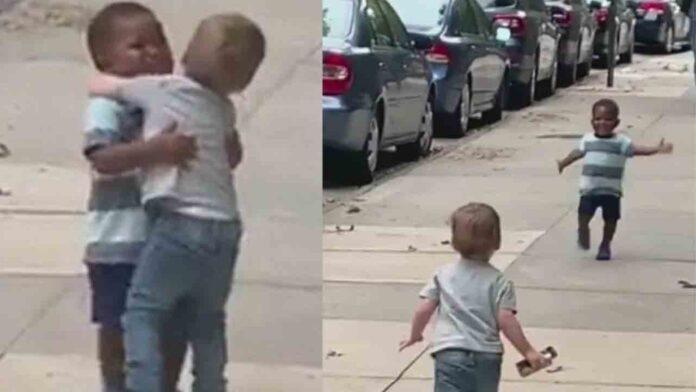Facebook y Twitter eliminan un video manipulado de niños que subió Trump
