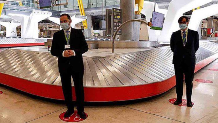 Los aeropuertos españoles recibirán hoy domingo 100 vuelos de turistas extranjeros