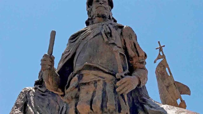 Retirado un monumento en Nuevo México al conquistador español Juan de Oñate