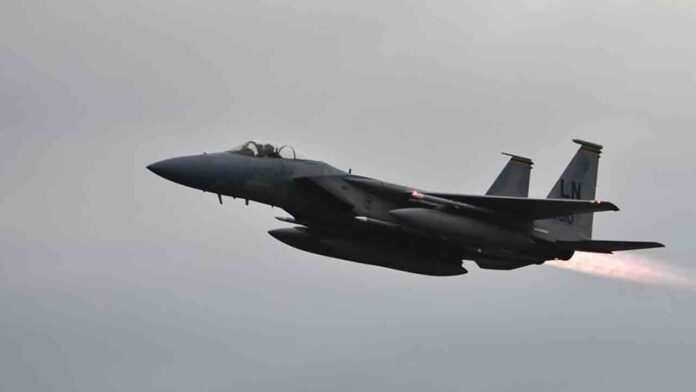 Se estrella un avión militar estadounidense en el Mar del Norte