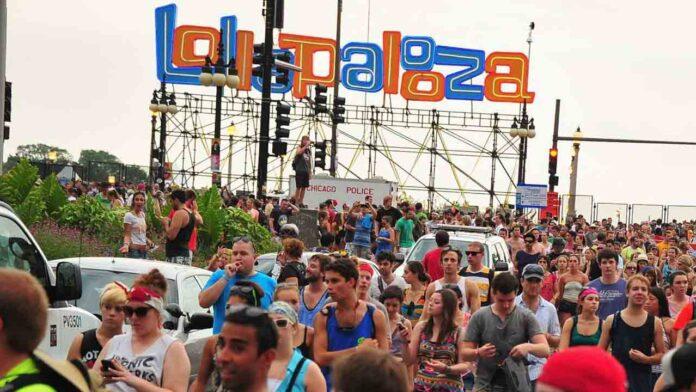 Cartel de Lollapalooza para la edición virtual de 2020