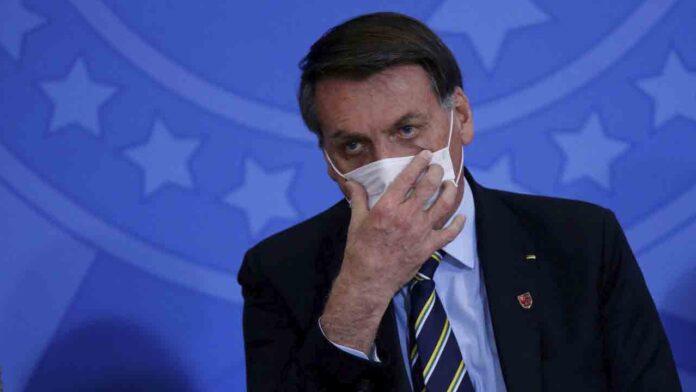 Demandarán a Bolsonaro por delitos contra la salud pública