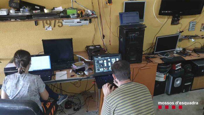 Detenido un hombre por vender ordenadores y controlar remotamente las cámaras