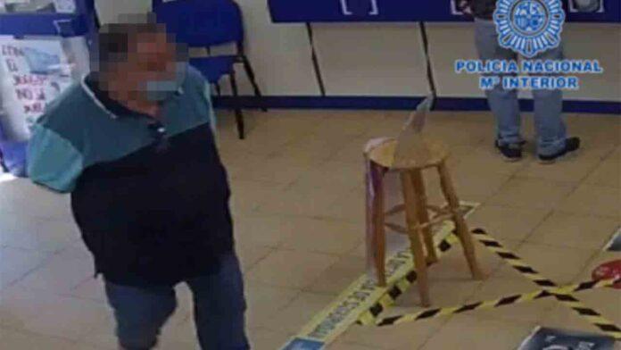 Detenido un hombre que planeaba un golpe de 200.000 € en administraciones de lotería