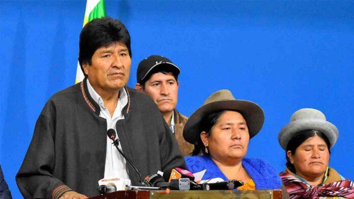 El gobierno golpista boliviano acusa a Evo Morales de terrorismo
