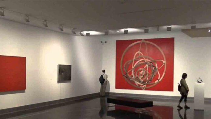 Exposición de obras de María Josefa Huarte en el Museo de Bellas Artes de Bilbao