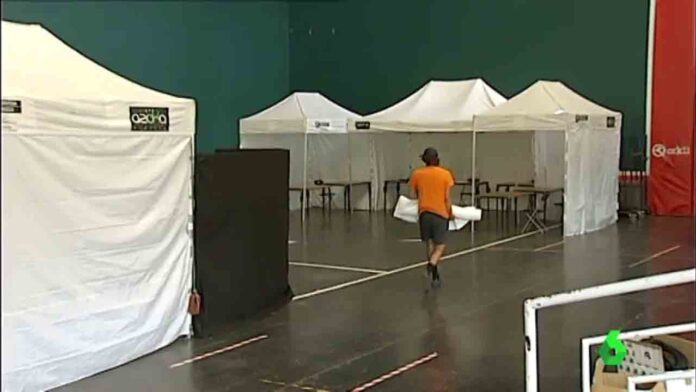 Las elecciones condicionadas por el coronavirus, han comenzado en Euskadi