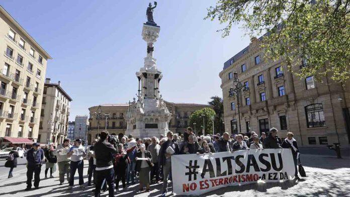 Liberados tres jóvenes del caso Altsasu
