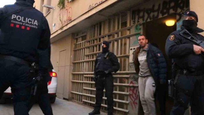 Operación antiterrorista de los Mossos en Barcelona