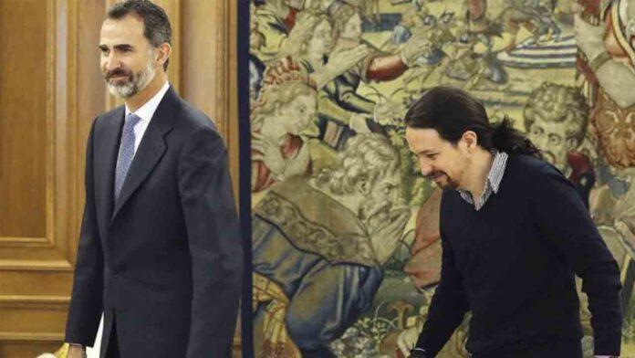 Podemos defiende que los escándalos sobre Juan Carlos ponen en cuestión el papel de Felipe VI