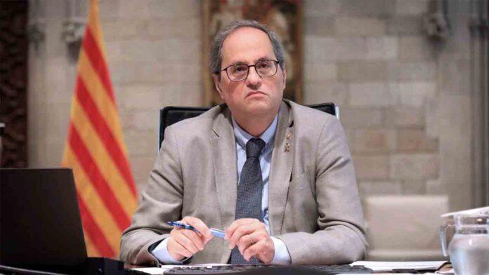 Torra quiere presentar una denuncia contra Juan Carlos I por corrupción