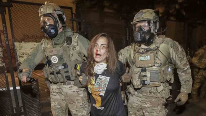 Trump despliega más agentes federales en la represión de Portland