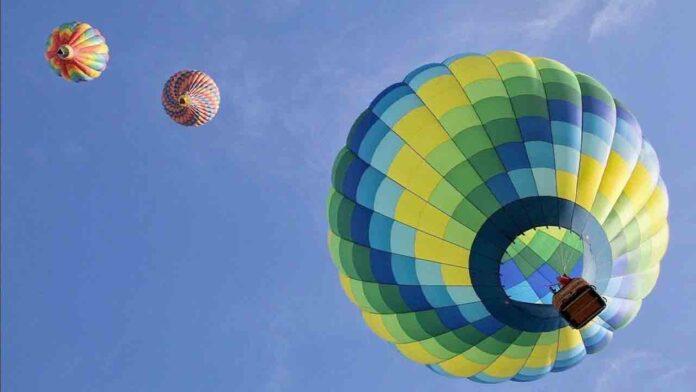 Volar en globo aerostático en Gijón