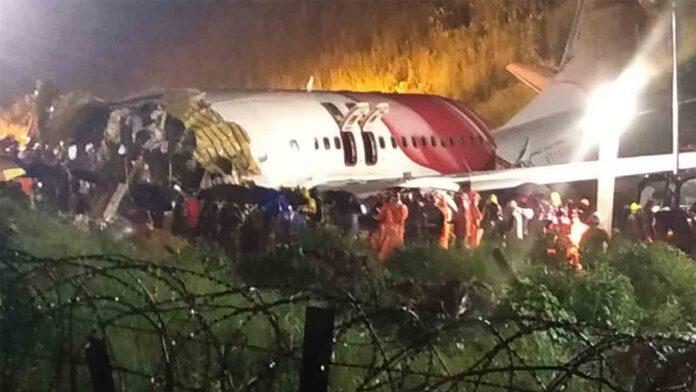 Accidente aéreo en India con 17 fallecidos