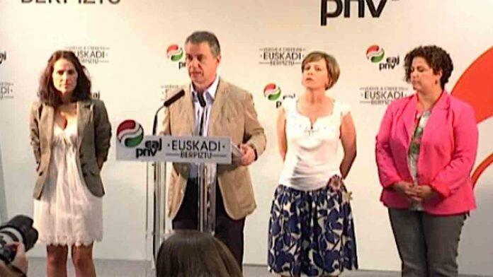 El PNV llevará la destitución de Etxebarria al Congreso
