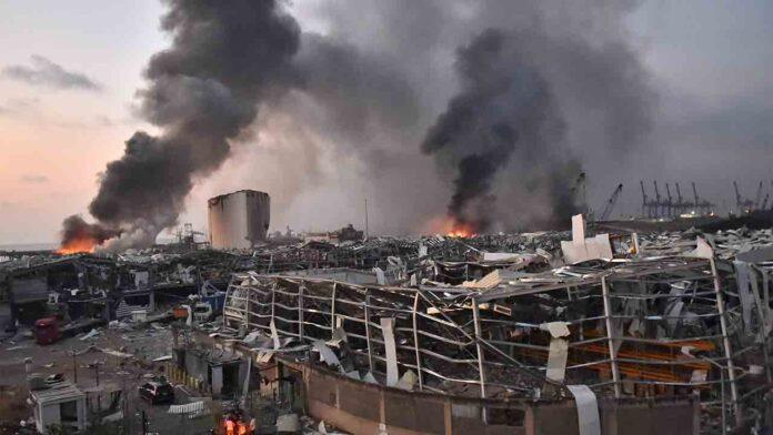 Explosión del Líbano