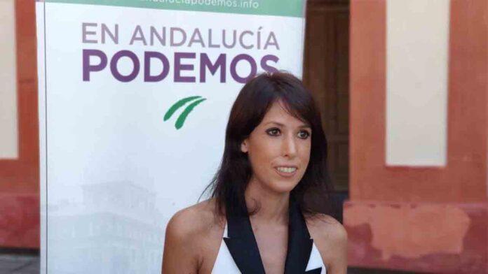 Fascistas de Vox amenazan a una diputada de Podemos con