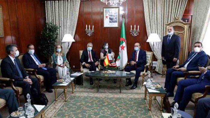 Grande-Marlaska y Argelia refuerzan la cooperación bilateral en materia de interior