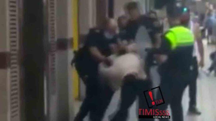 Intervención policial en una reyerta con arma blanca en Mislata