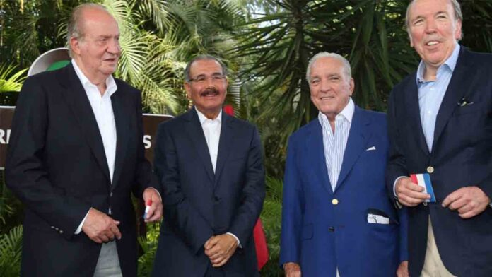 Juan Carlos I llega al complejo Casa de Campo de República Dominicana