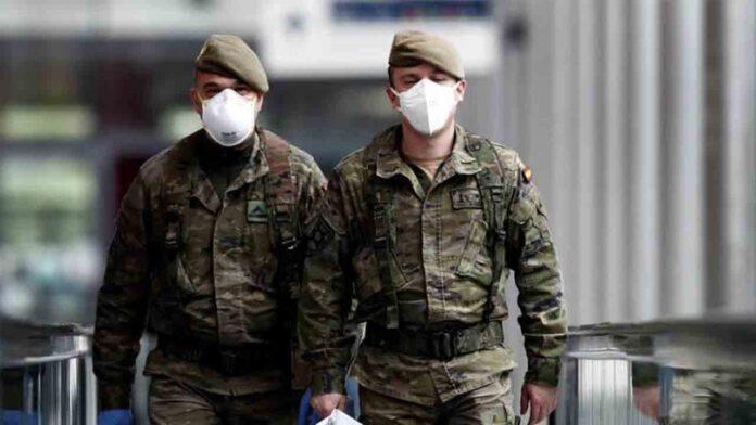 Zaragoza despliega al ejército con un área de hospitalización
