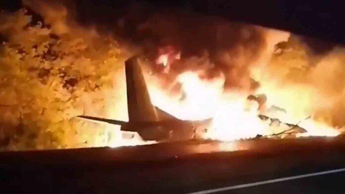 Al menos 26 muertos en un accidente de avión en Ucrania