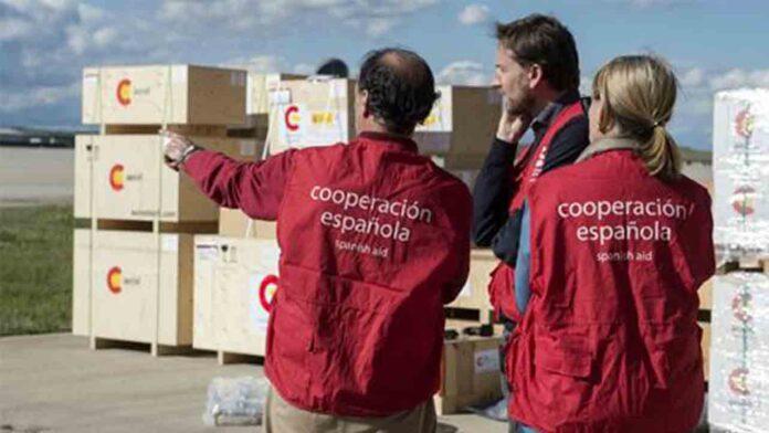 Segundo envío de ayuda humanitaria de España a Libano