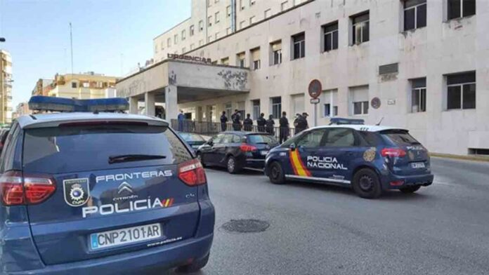 Tres detenidos en Algeciras en la operación que resultó herido grave un policía