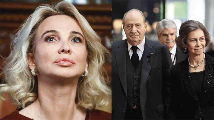 Corinna acusa a Sofía de planear una campaña de difamación para expulsar a Juan Carlos