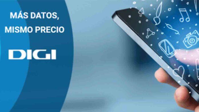 Digi anuncia más GB y mejores velocidades para sus tarifas de telefonía