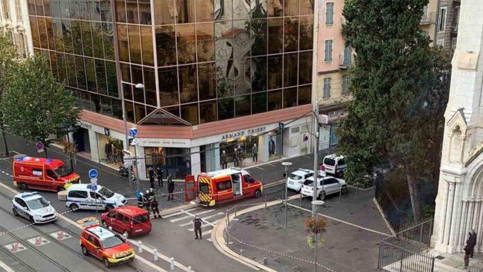 Dos muertos y varios heridos en un ataque junto a la iglesia Notre-Dame en Niza