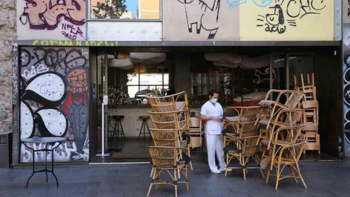 Entra en vigor el cierre de bares y restaurantes en Catalunya