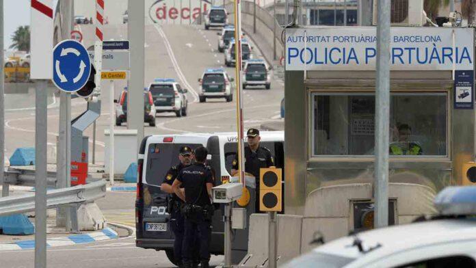 Interceptados cerca de 250 kilos de cocaína en el puerto de Barcelona