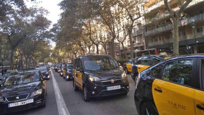 UATAE presta su apoyo a las movilizaciones del taxi en Barcelona