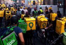 UGT pide a Inspección de Trabajo que obligue a Glovo y Uber a dar de alta a los riders