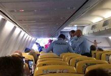 Un avión de Ryanair Liverpool - Tenerife, desviado a Lisboa por un altercado