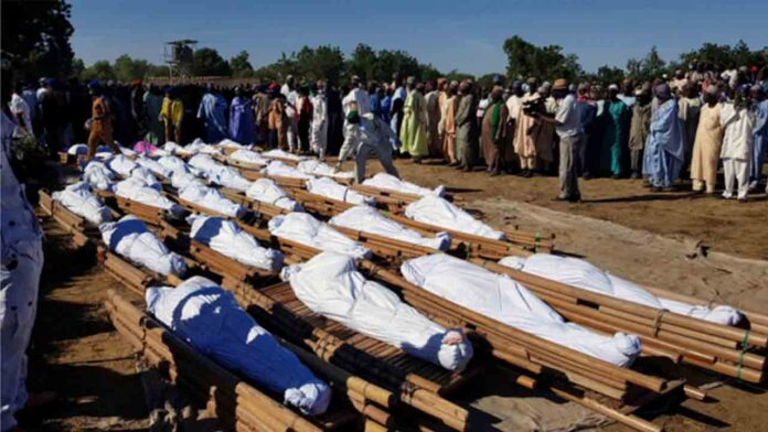 Al menos 110 civiles muertos en un ataque yihadista en Nigeria