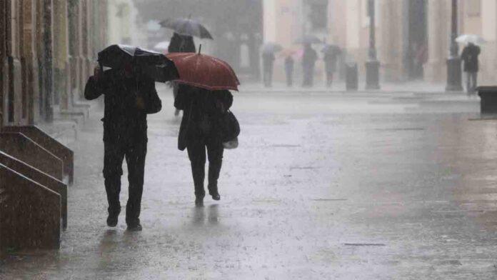 Alerta por lluvias en amplias zonas de la Península durante los próximos días