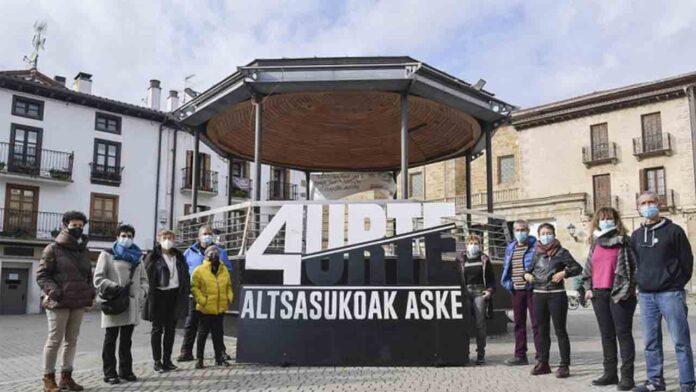 Altsasu mira hacia Estrasburgo, cuatro años después de las detenciones