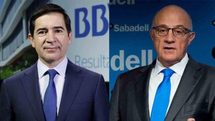 BBVA y Sabadell mantienen conversaciones para la fusión