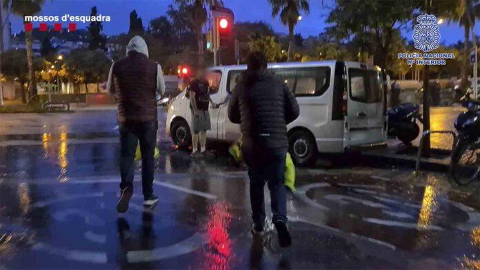 Detenidos 48 grafiteros ferroviarios en Barcelona