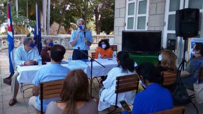 La Habana y la Unión Europea colaboran en la lucha contra la Covid-19