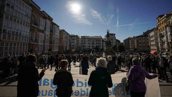 Movilizaciones en el País Vasco contra la política penitenciaria excepcional